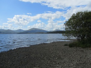 The bonnie bonnie banks of Loch Lomond